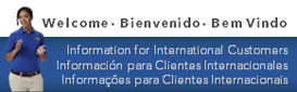 International Customers Clientes Internacionales Cliented Internacionais